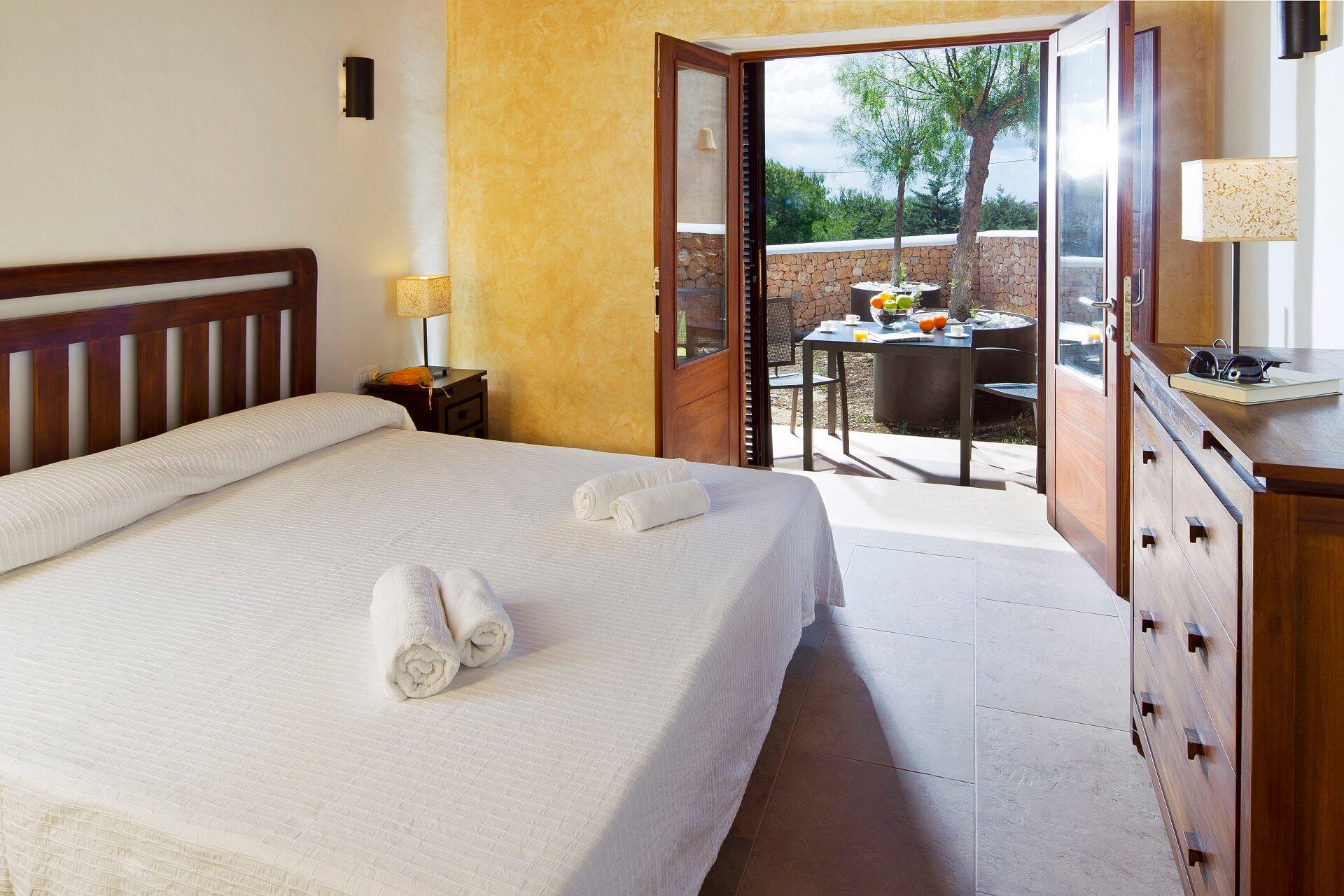 Villa CASES N1 Plus - Bedroom with terrace