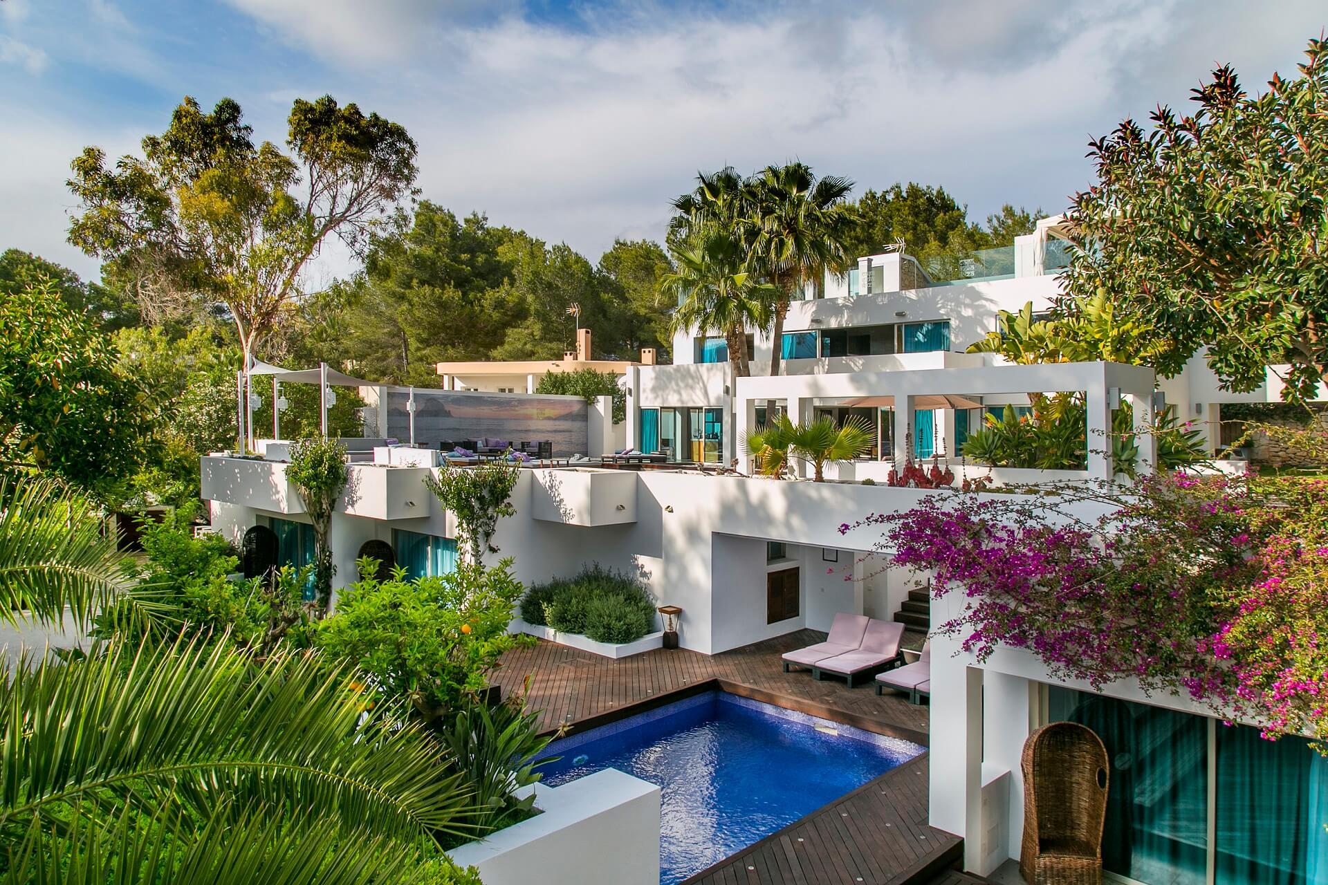 Casa India Ibiza - Außenansicht