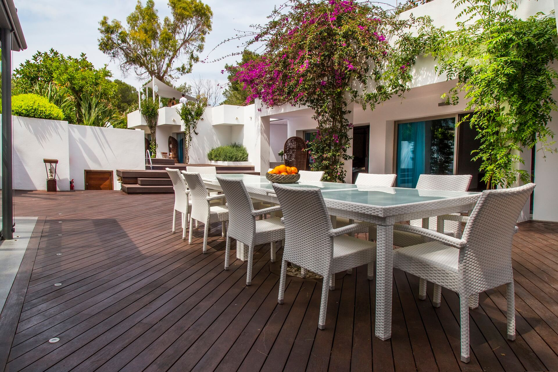 Casa India Ibiza - Outdoor dining area