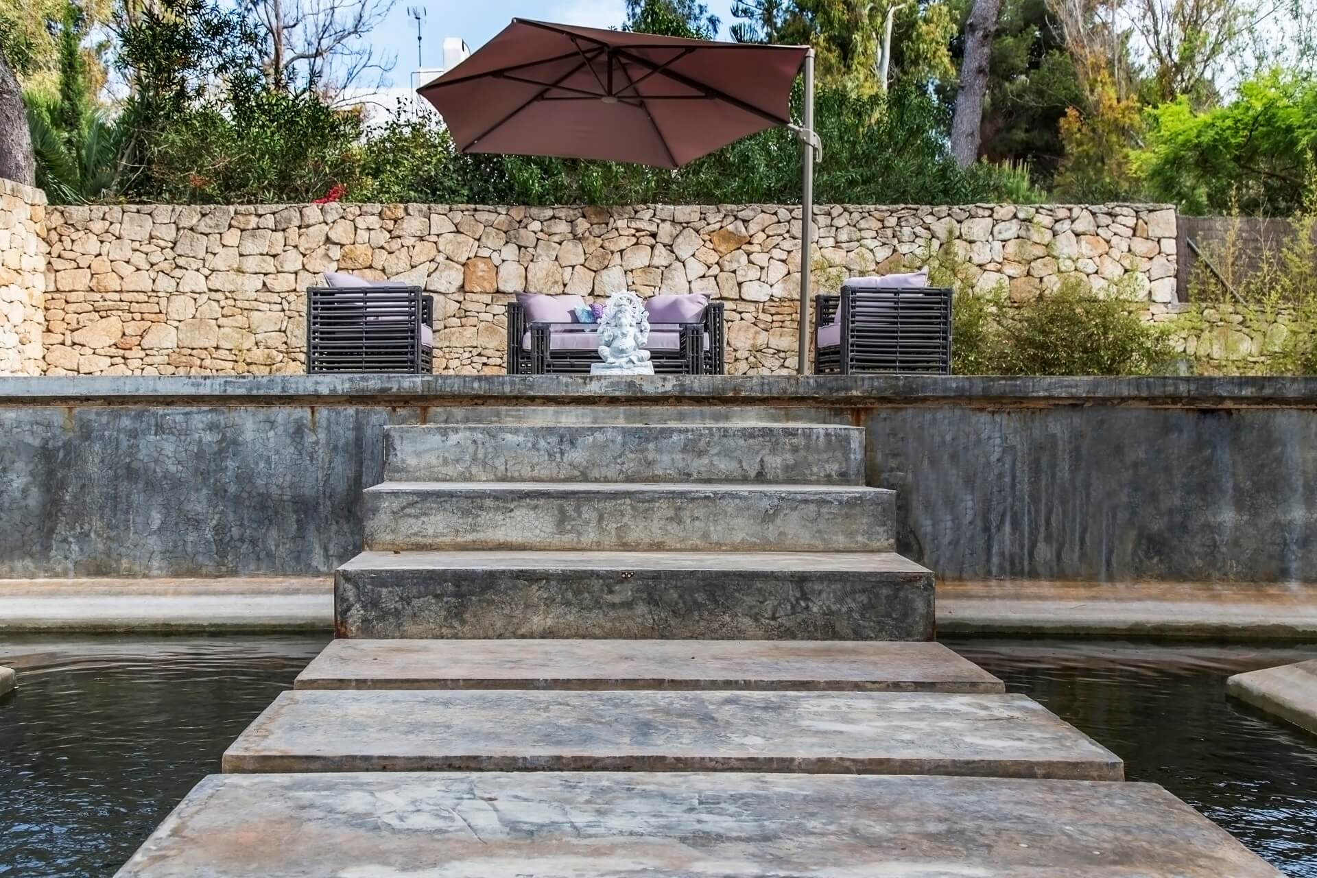 Casa India Ibiza - Outdoor Yoga Platform