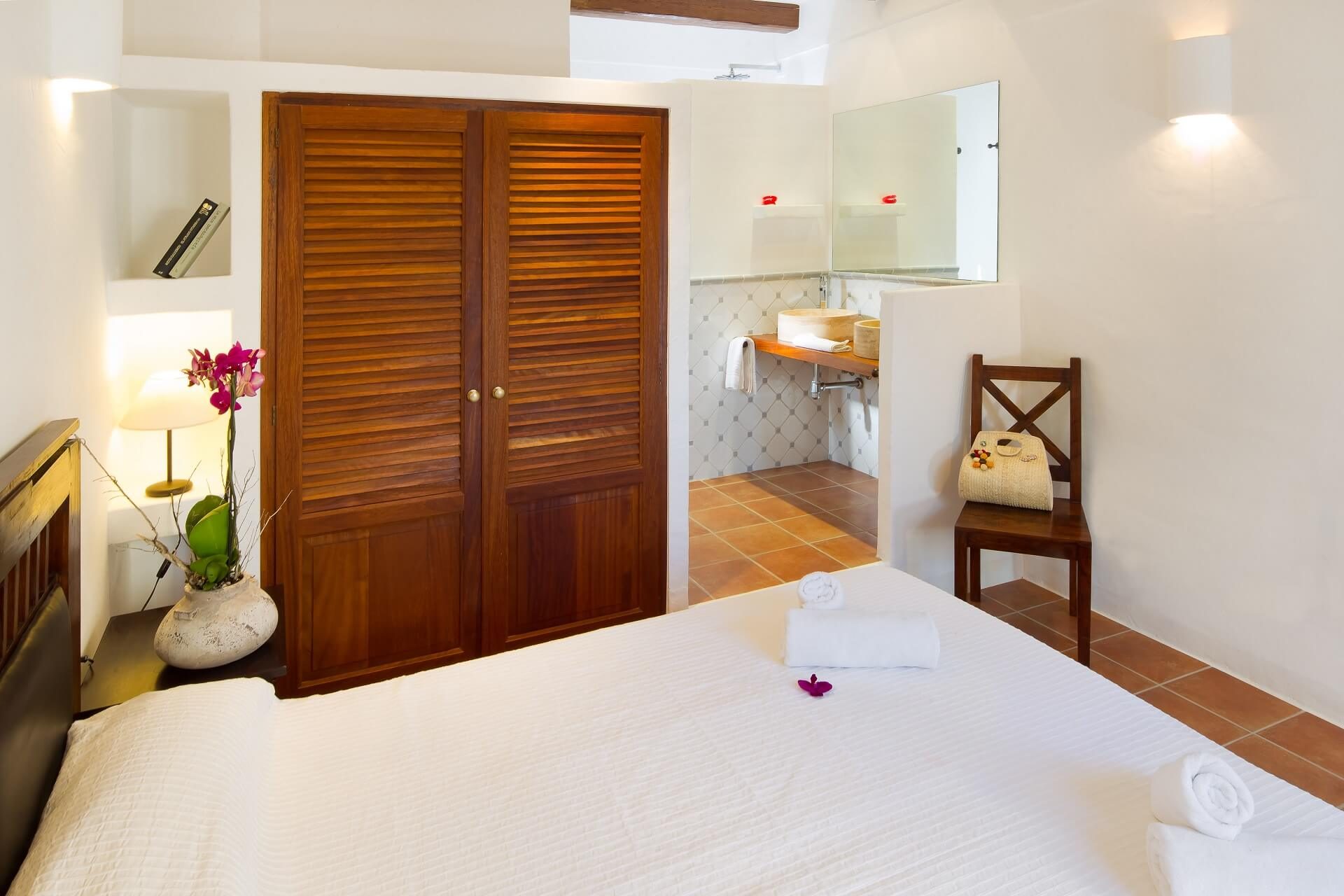 Villa CASES N3 - Bedroom with bath en suite