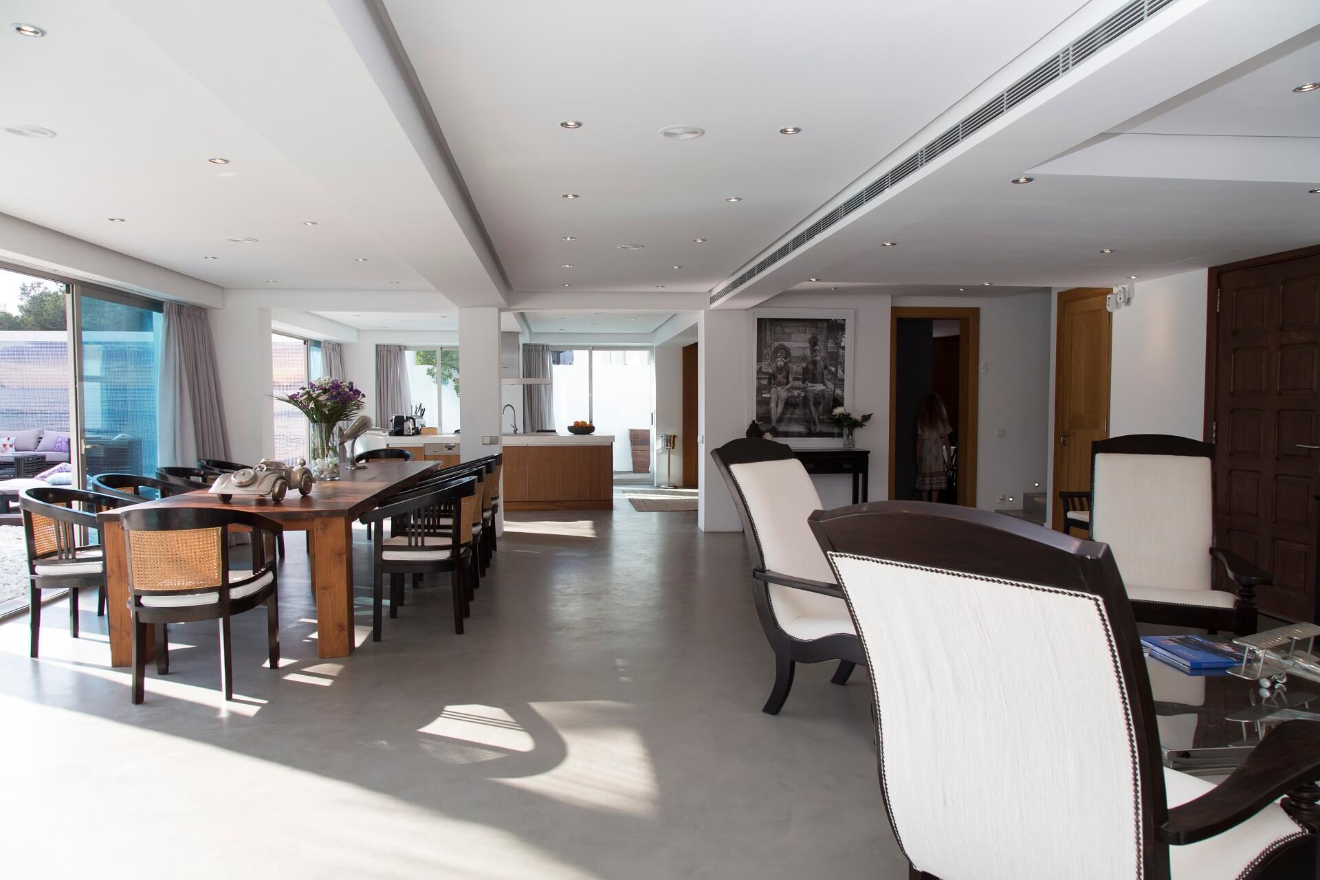 Casa India Ibiza - Living area