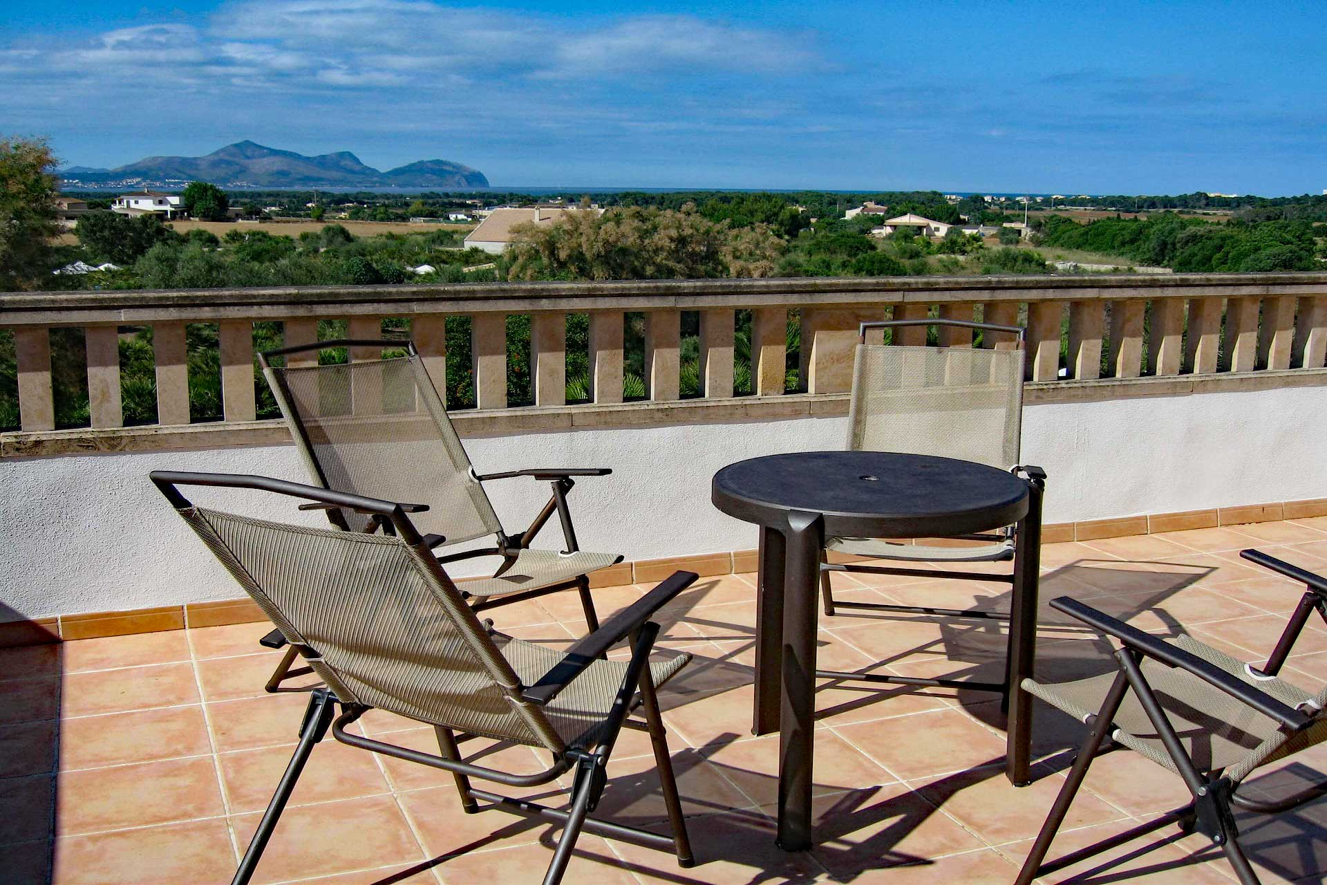 Finca Palmitos II - Roof terrace with views