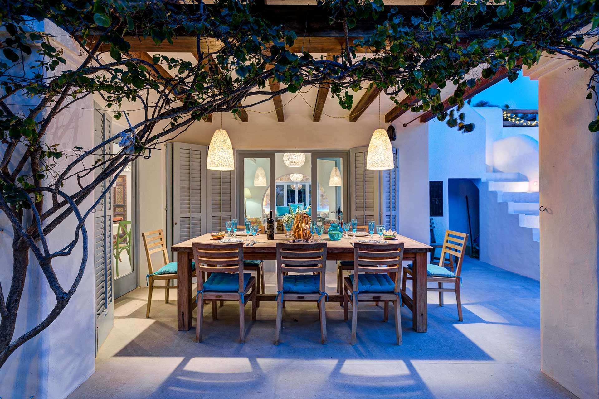 Vila Can Terra - Dining area