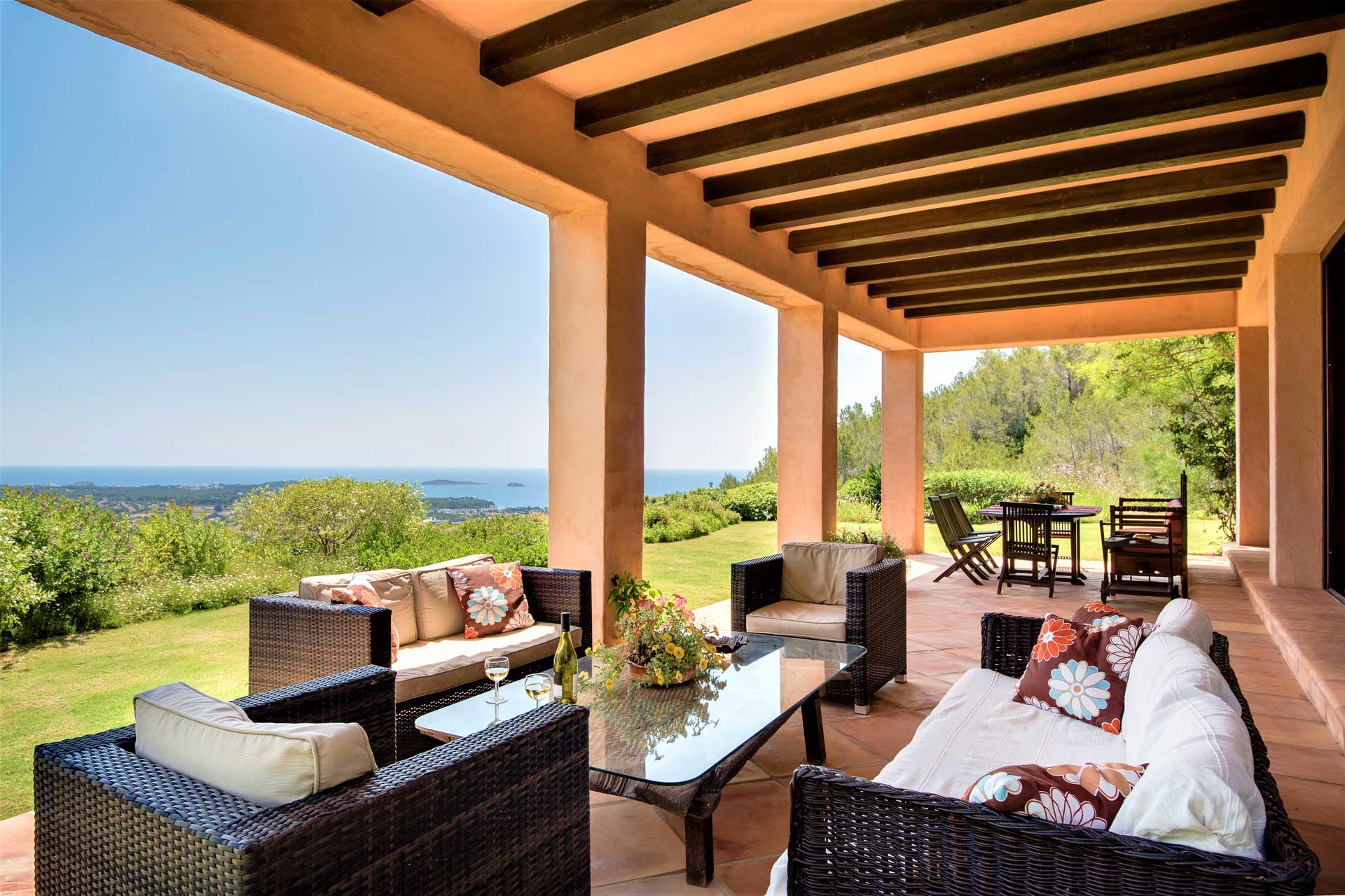Villa K Ibiza - Terrasse