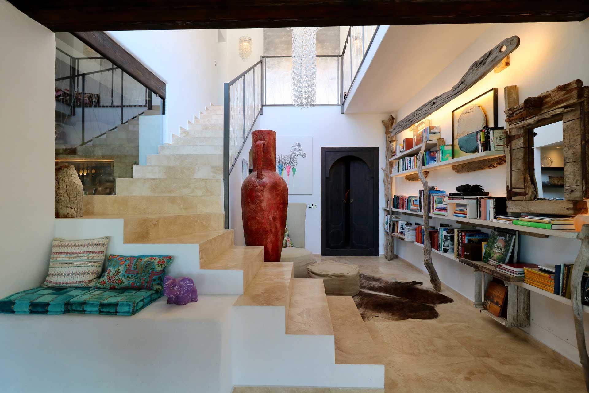 Villa Can Gecko Aloe Valley Ibiza - Wohnbereich
