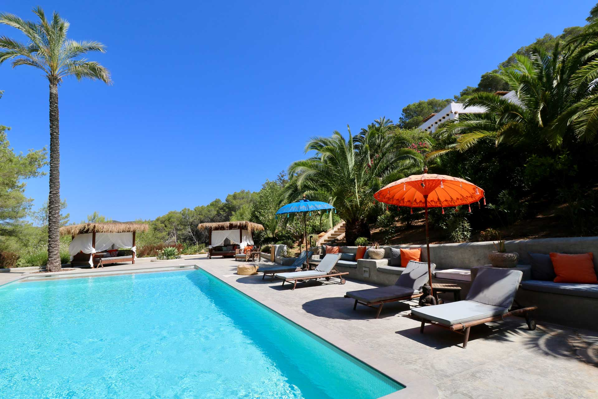 Villa Can Gecko Aloe Valley Ibiza - Swimmingpool