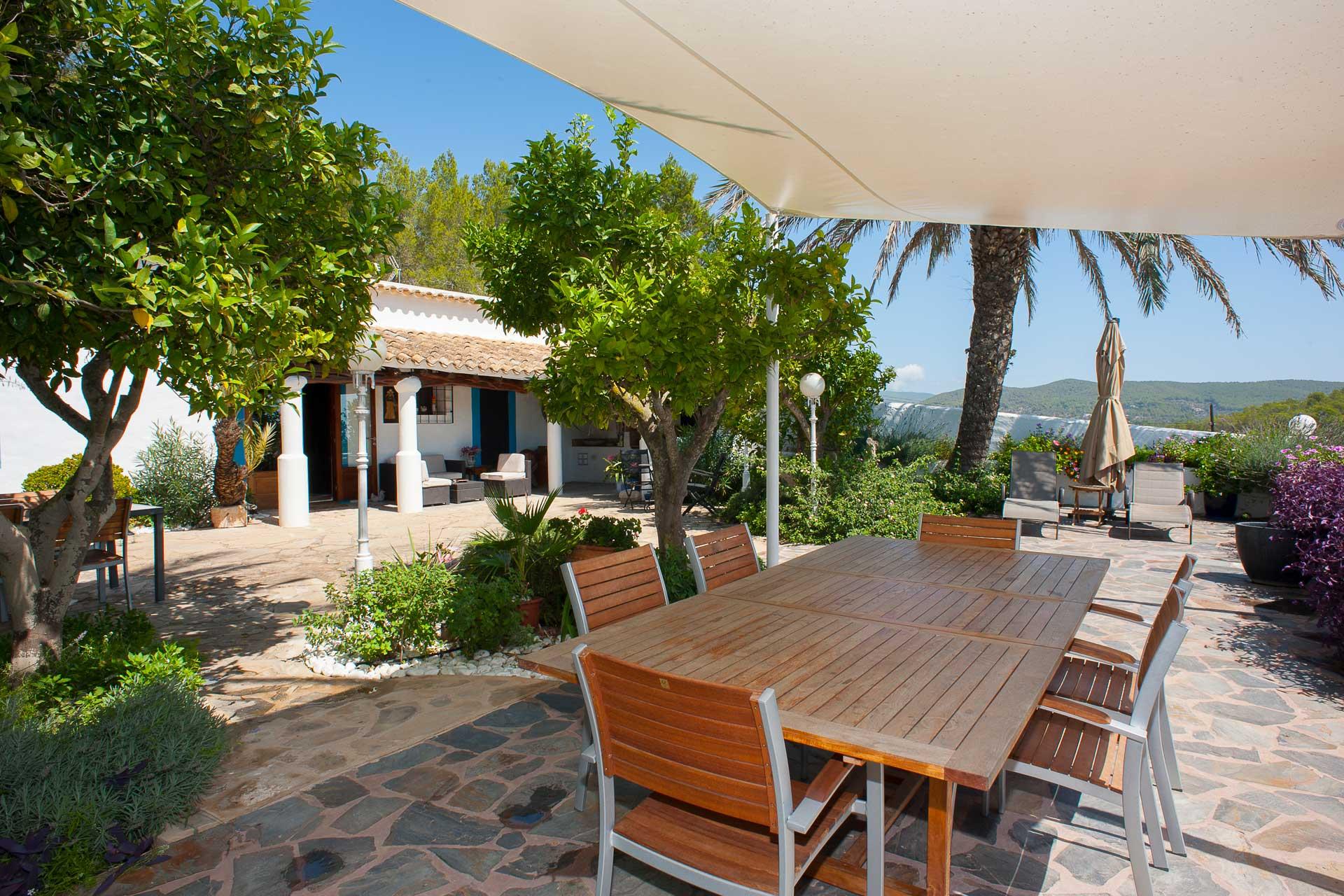 Finca Can Gall Ibiza - Terrasse
