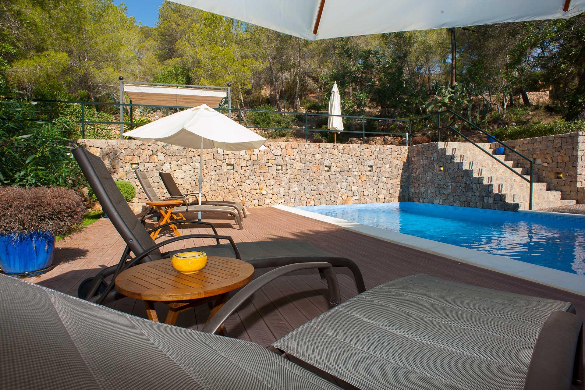 Finca Can Gall Ibiza - Swimmingpool